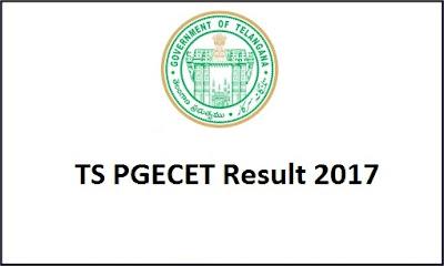 TS PGECET Result 2017