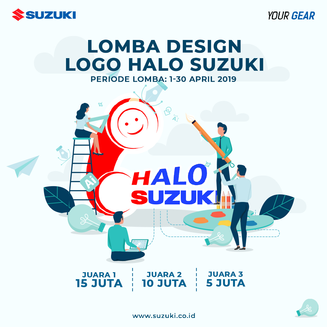 Suzuki Gelar Lomba Desain Logo Berhadiah Total Rp 30 Juta