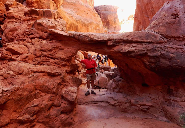 Vilia Adventures: Fiery Furnace Arches NP Hike