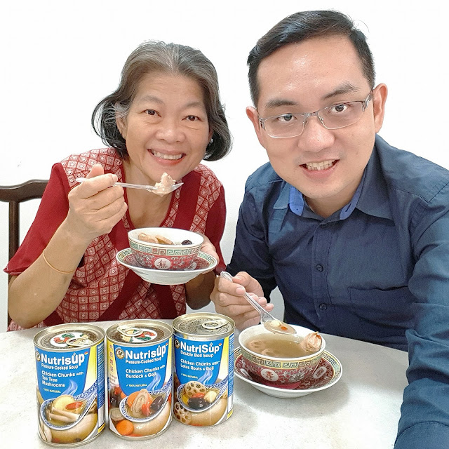 ISAAC TAN with mum