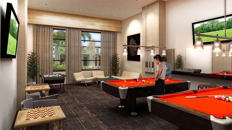 La Verti Residences Game Room