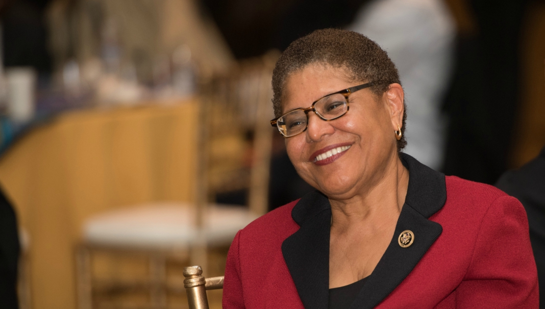 African American Reports Congresswoman Karen Bass Elected