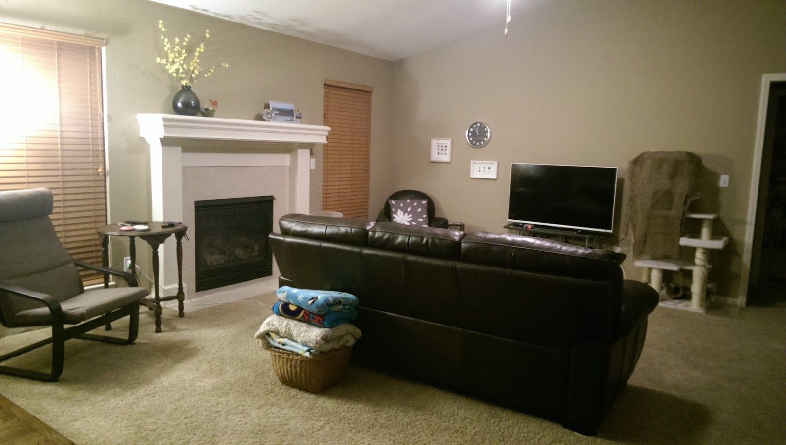 Tiny Scraps An Awkwardly Shaped Living Room