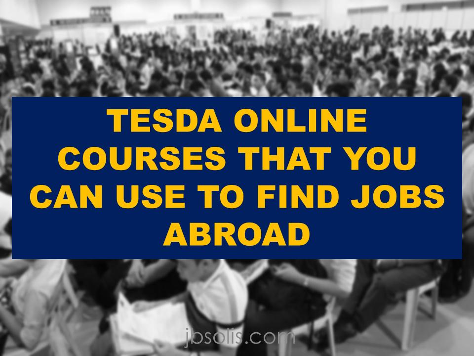 Free Tesda Courses Training