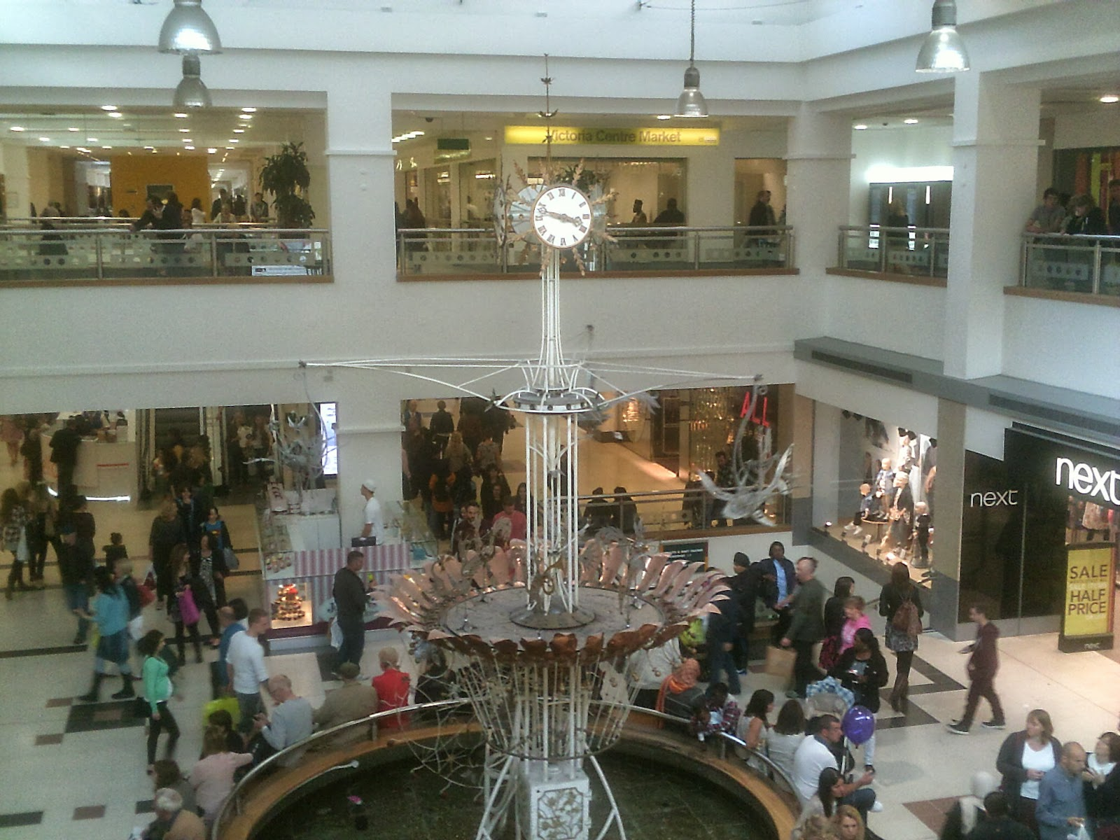 victoria shopping centre nottingham