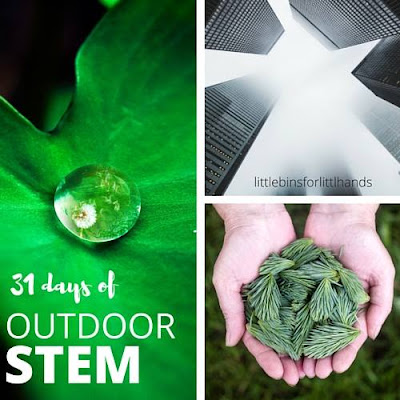 31 Days of Outdoor STEM kids activities