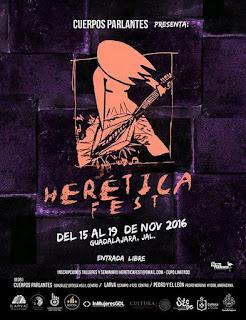 heretica fest 2016 guadalajara
