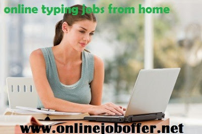 online typing work from home without investment