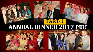 Annual Dinner 2017 Part 1, Institute of Chemistry, University of the Punjab, Lahore