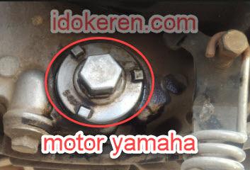 tempat filter oli motor matik yamaha