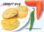 Healthy Breakfast Carrot Idli
