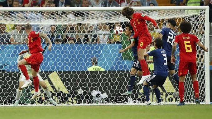Bélgica le dio vuelta el partido a Japón
