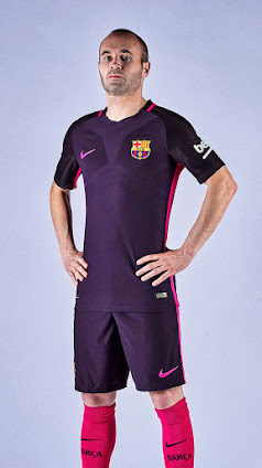 Barcelona 16-17 Away Kit Released - Footy Headlines 3e2daea997035