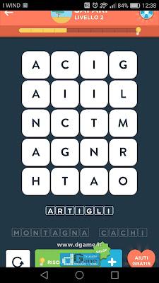 WordBrain 2 soluzioni: Categoria Safari (4X5) Livello 2