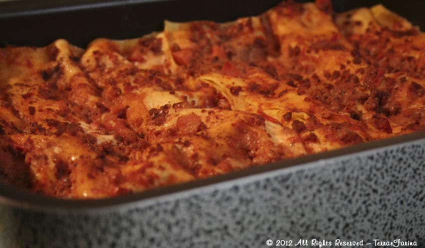 Terra E Farina Lasagne Al Forno