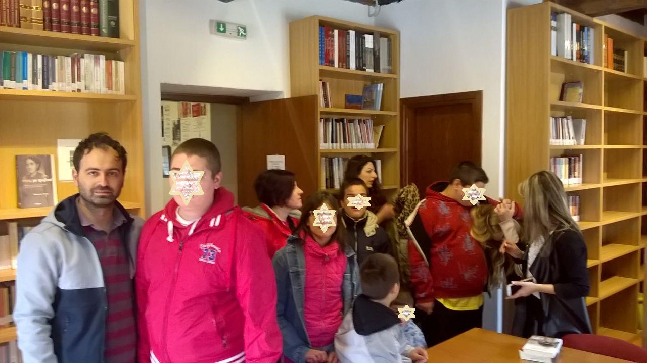 Στη Δημοτική Βιβλιοθήκη το Ειδικό Δημοτικό Σχολείο Πολυγύρου
