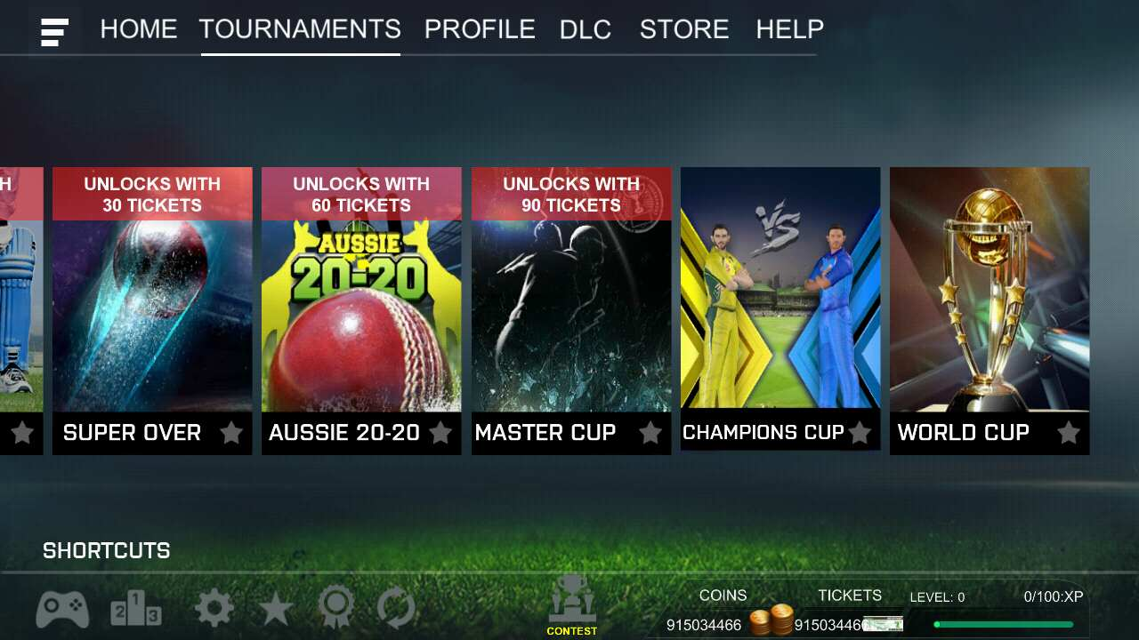 Real Cricket 18 MOD apk free Download Unlimited Money Infinity