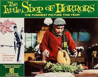 El rodaje de La pequeña tienda de los horrores