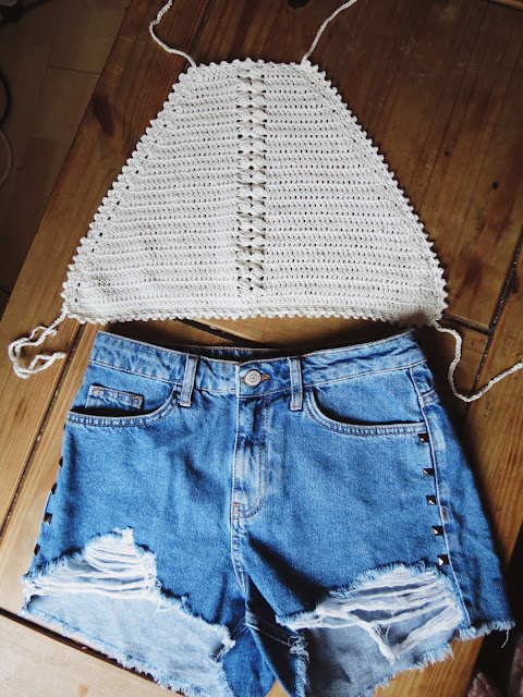 crochet crop top pattern