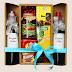 Quà tết -Hộp quà tết 2018 có kèm 2 chai rượu vang ngoại