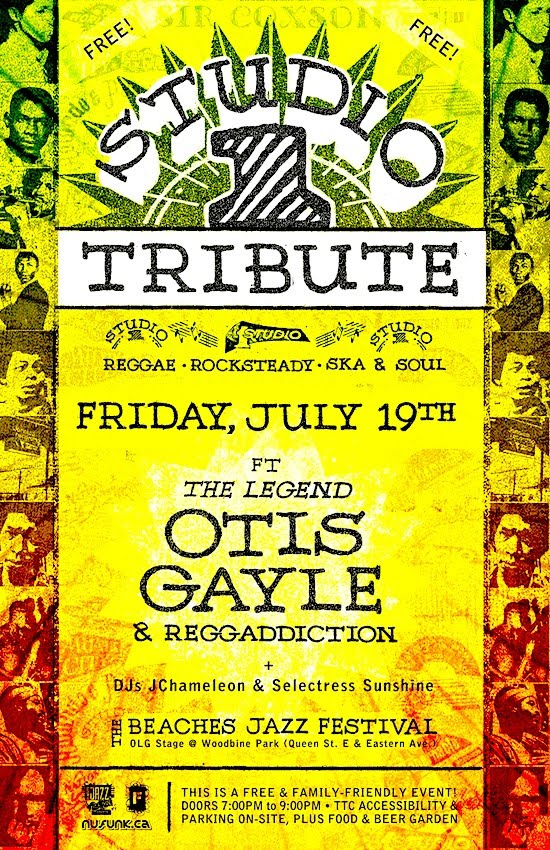 Studio One Tribute @ Woodbine Park, Friday
