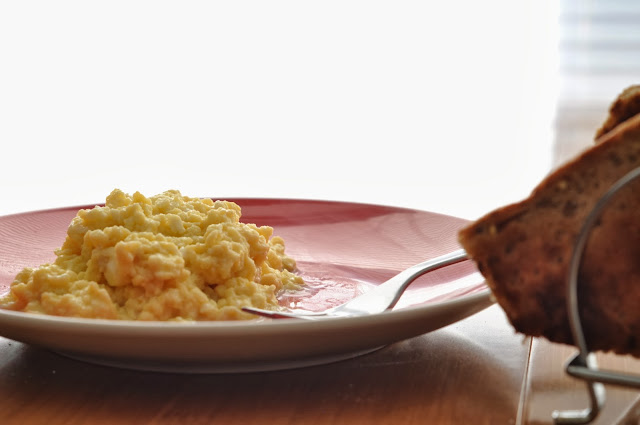 Scrambled Eggs ~ Simple Food