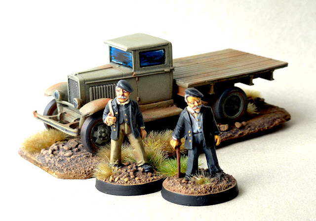GAZ AA Warlord Games Force of Arms Bolt Action Partisans