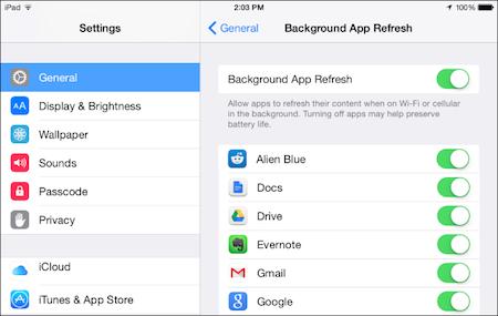 """Cách kiểm tra ứng dụng """"ngốn pin"""" trên iPhone, iPad"""
