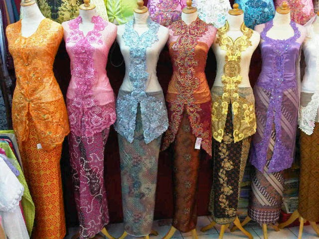 Model Baju Kebaya Untuk Wanita Bertubuh Kurus Langsing