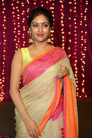 Anu Emmanuel sizzles in khaki saree at Zee Telugu Apsara Awards 2017 11.JPG