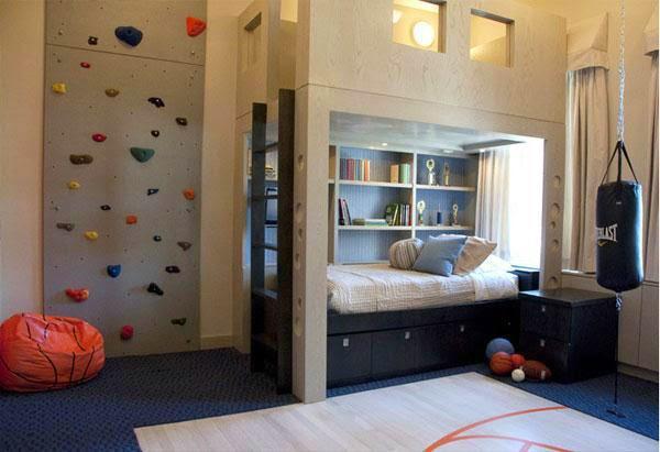 dormitorio divertido niño