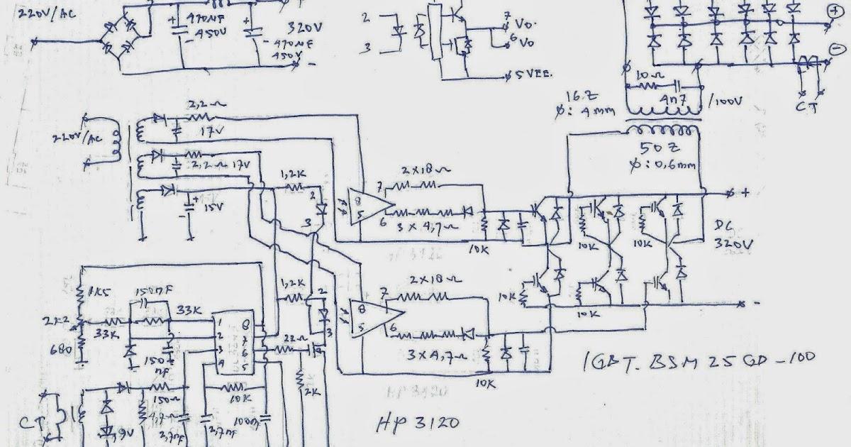 Wiring Diagram Mesin Las Listrik