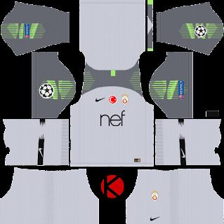 Galatasaray S.K. 2018/19 UCL Kit - Dream League Soccer Kits