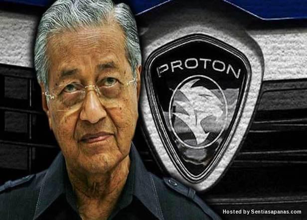 Proton tergadai