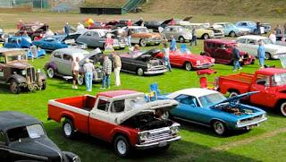 Vintage Car Show Port Townsend Washington USA