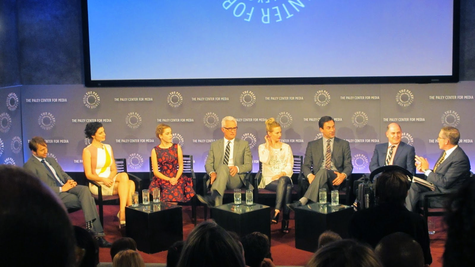 Paley Center Mad Men evening