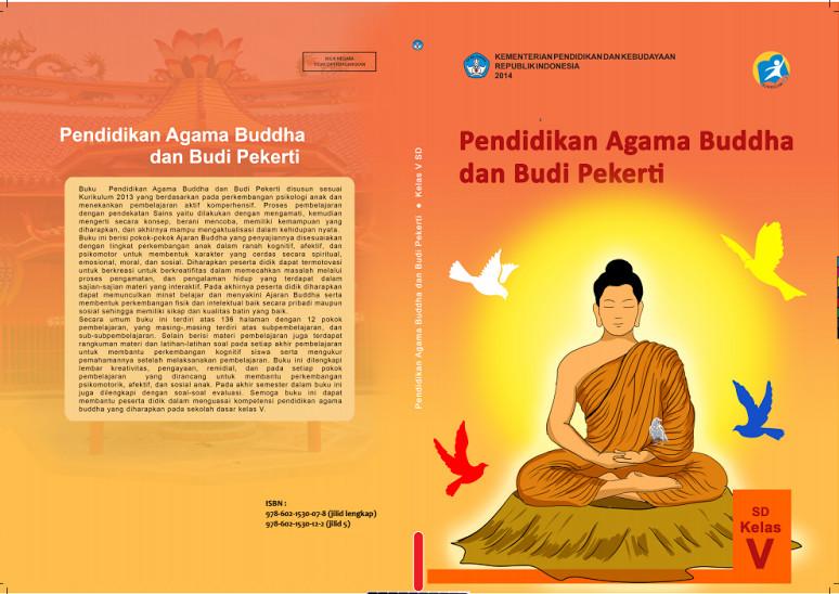 Download Gratis Buku Siswa Pendidikan Agama Budha Dan Budi Pekerti Kelas 5 SD Kurikulum 2013 Format PDF