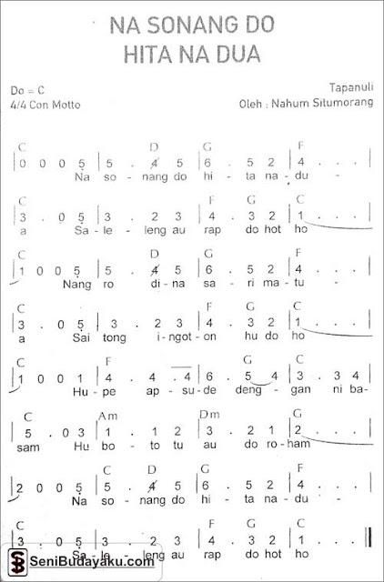 not-lagu-nasonang-do-hita-na-dua