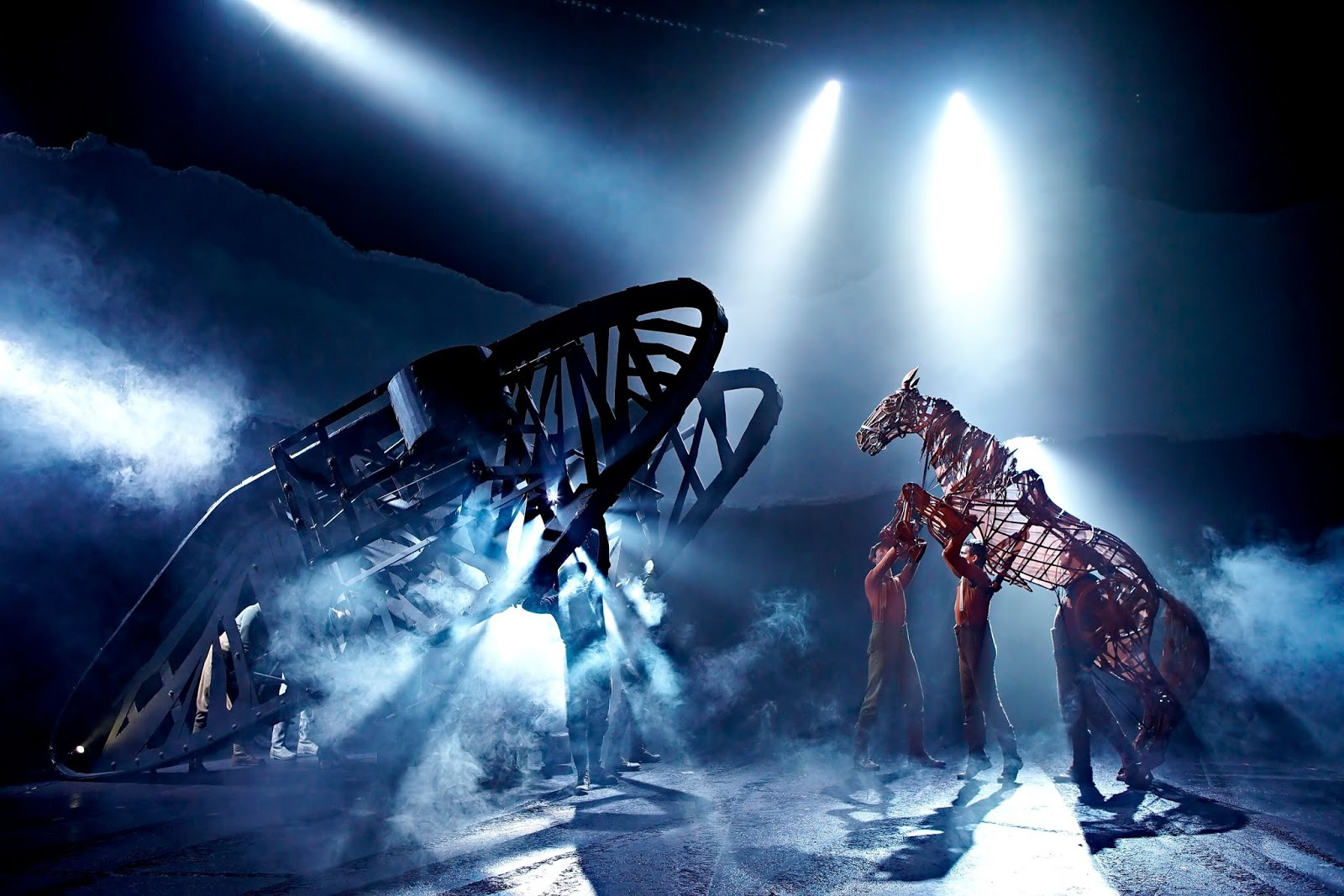 War Horse | Sunderland Empire 2019  - Tank on stage