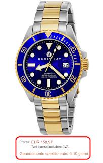 prezzo rolex Henry Jay - orologio acquamaster professionale uomo