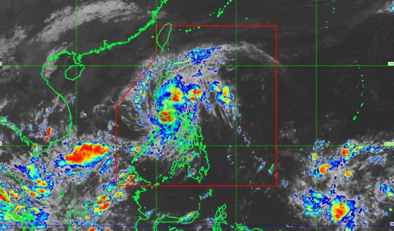 'Bagyong Salome' PAGASA weather update 8PM November 9, 2017