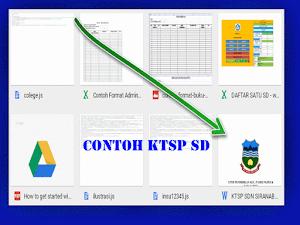 Download Contoh KTSP Terbaru 2016 / 2017