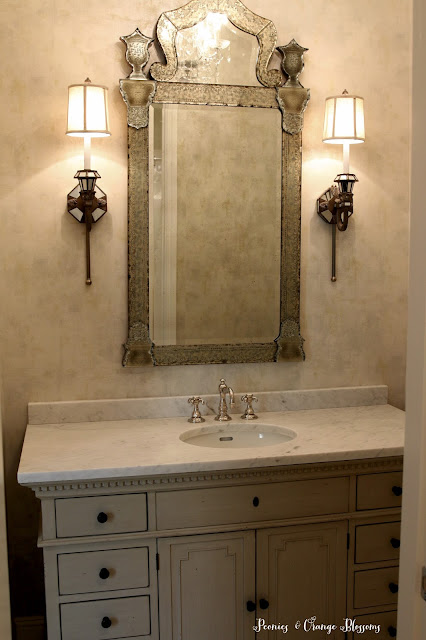 French bathroom renovation