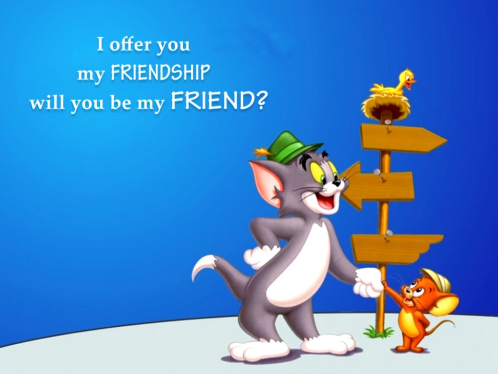 Cartoons Wallpapers With Quotes Wallpapers Sinaga