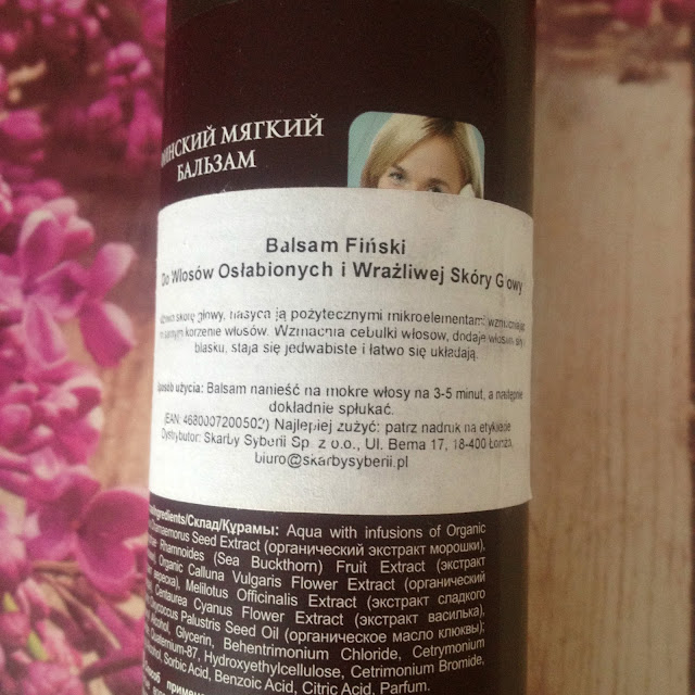 balsam fiński do włosów
