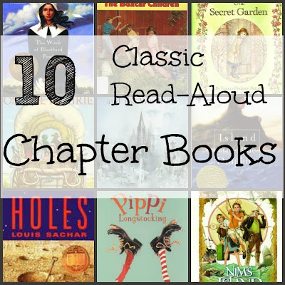 recommended chapter books for kids