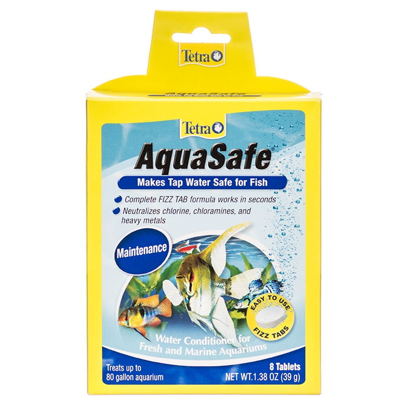 Gambar Conditioner Air Aquarium Untuk Ikan Hias Megap Megap Atau Ter-Engah Engah Di Permukaan Air