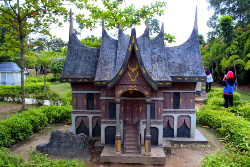 Adventurose Because Life Is An Adventure Miniatur Rumah Adat