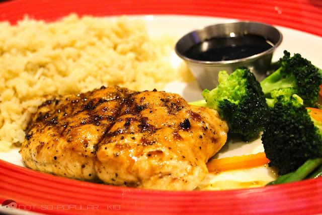 Juicy and fresh but expensive Jack Daniel's Salmon of Fridays
