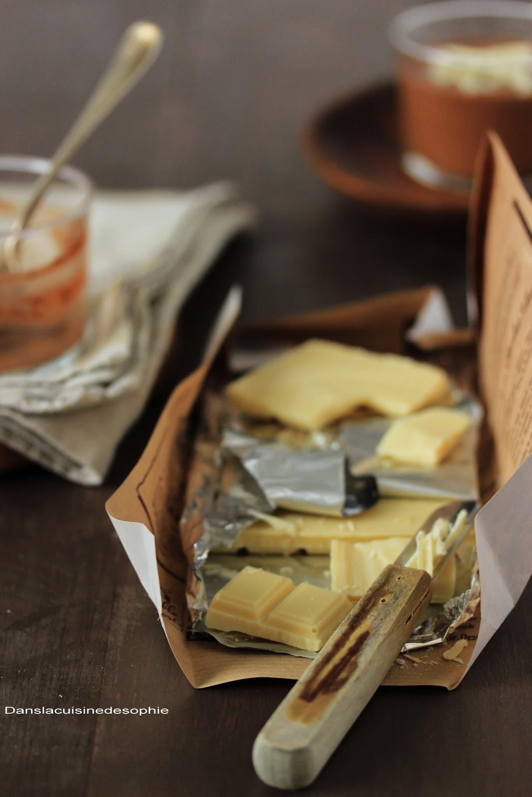 Dans la cuisine de sophie mousse coco chocolat for Dans 30 ans plus de chocolat